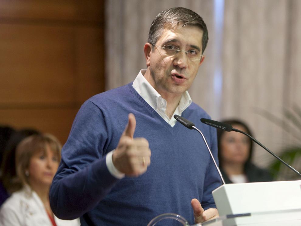 El lendakari y secretario general del PSE-EE, Patxi López