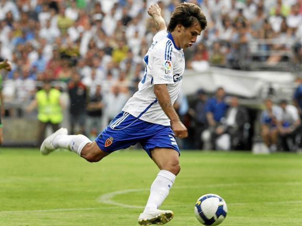 Leo Ponzio no podrá armar su disparo contra el Barcelona.