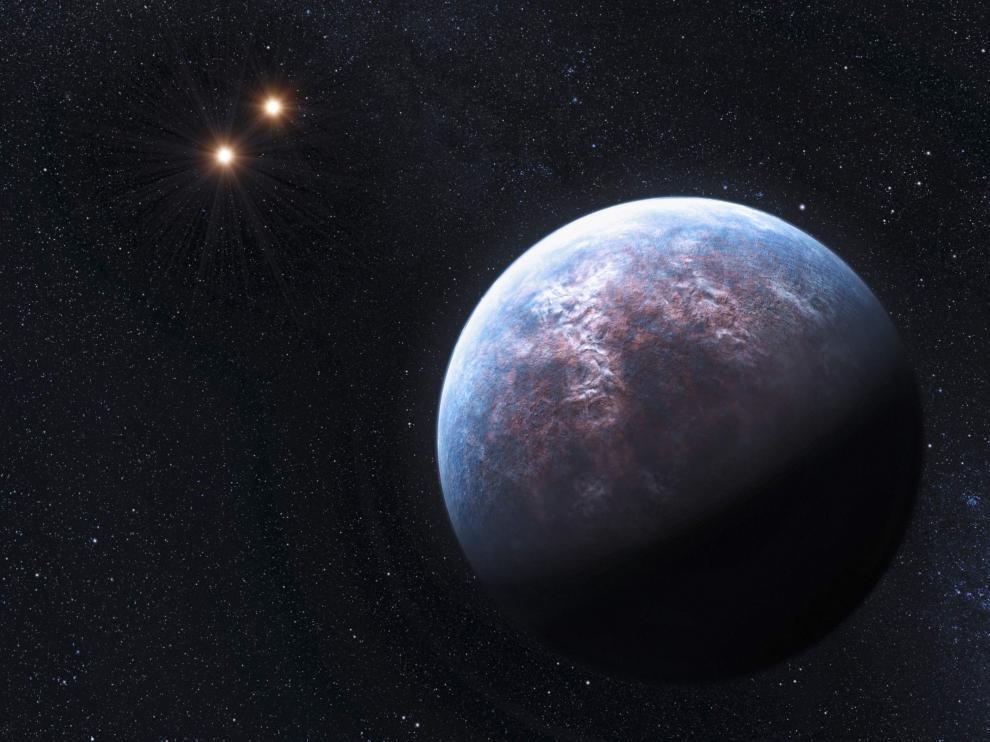 Uno de los exoplanetas es seis veces el tamaño de La Tierra.