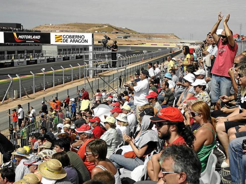 Imagen de la inauguración del circuito de Motorland