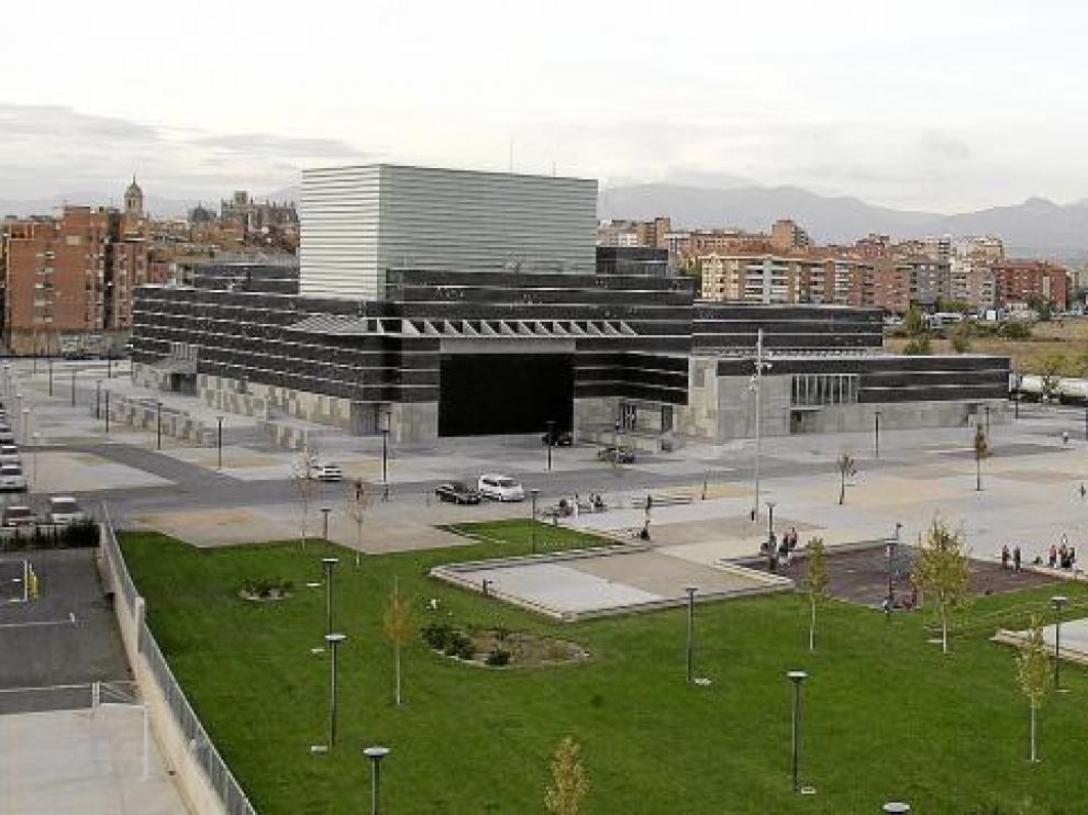El Palacio de Congresos es, de momento, la única infraestructura a disposición de la candidatura.