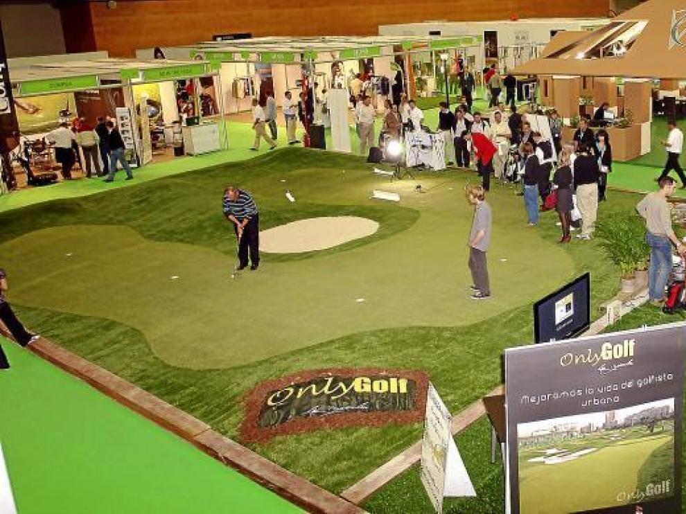 El pabellón 6 de Ifema es el escenario de la cuarta edición de la feria centrada en el golf.
