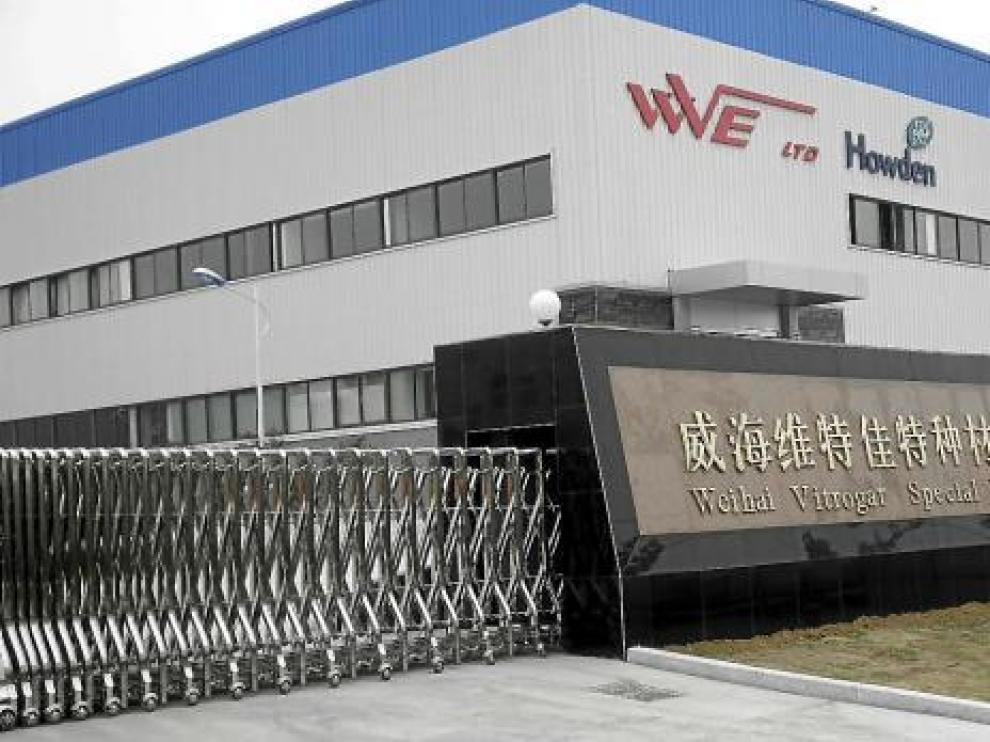 Fábrica china de Vitrogar, desde la que se atenderá el mercado asiático de intercambiadores de calor.