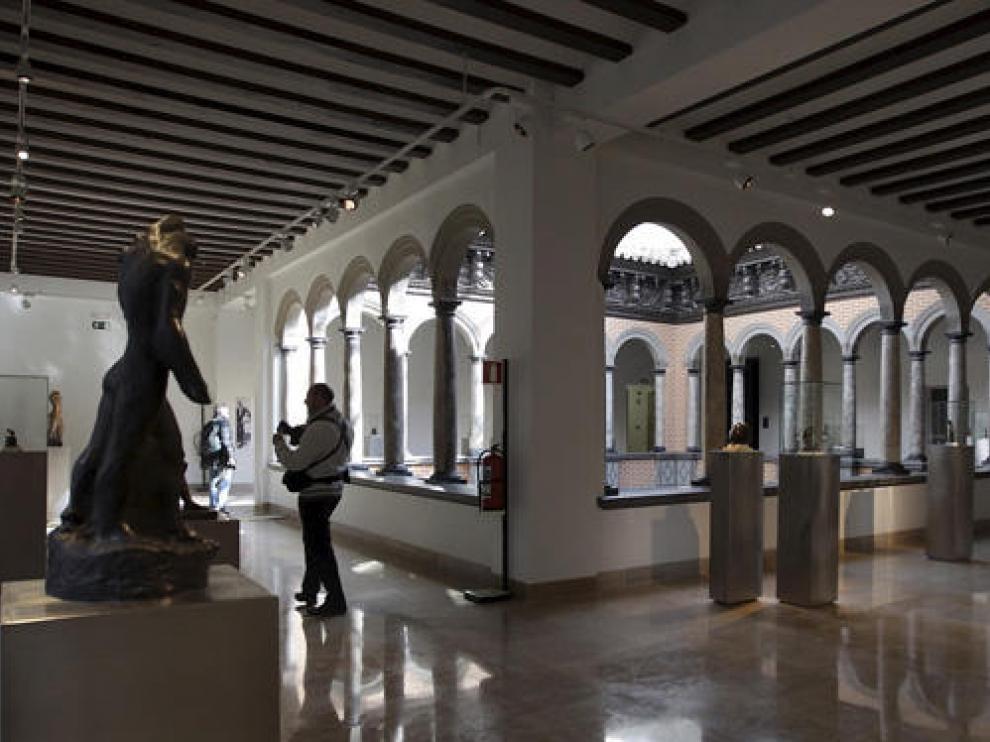 La ampliación del Pablo Gargallo se inaugura con cinco nuevas obras