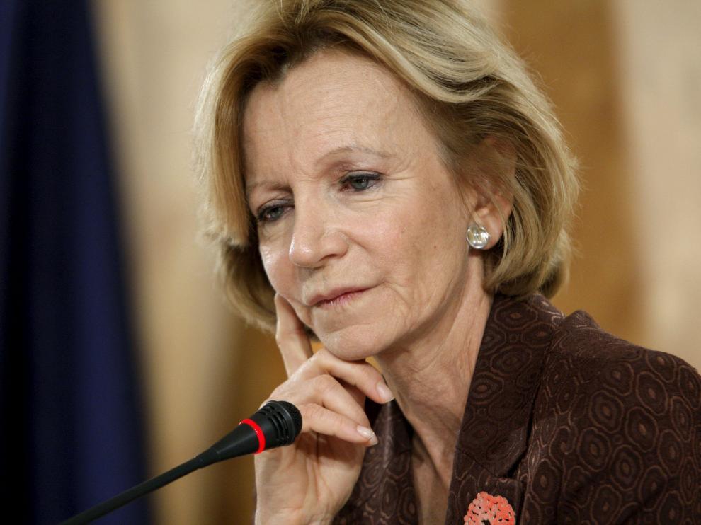 La ministra de Economía Elena Salgado