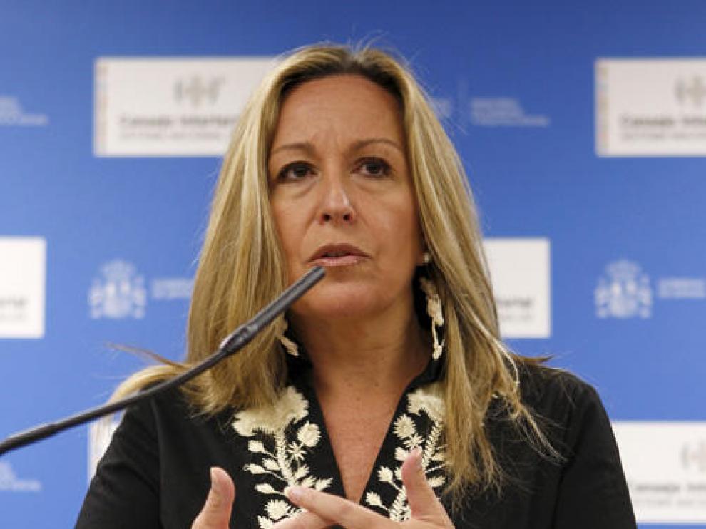 La ministra de Sanidad y Política Social, Trinidad Jiménez