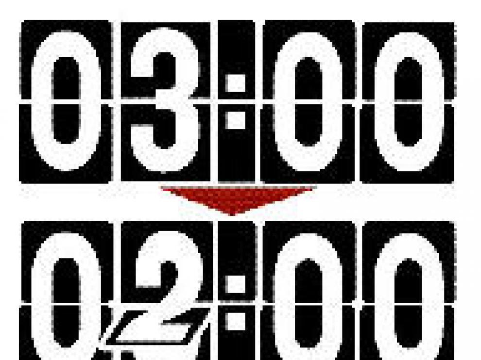 A las 3 serán otra vez las 2