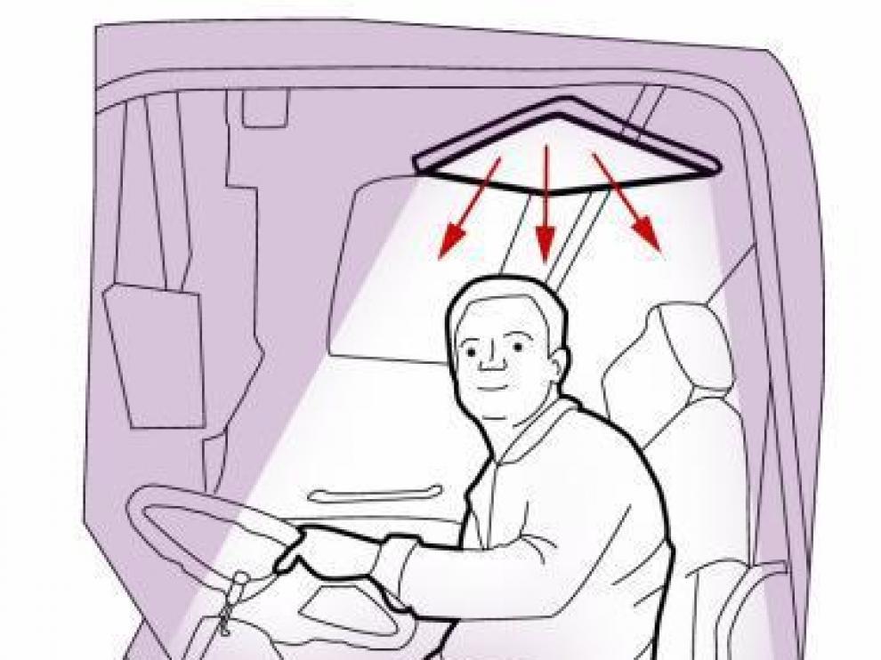 Crean un difusor de luz que mejora la visión nocturna en la carretera