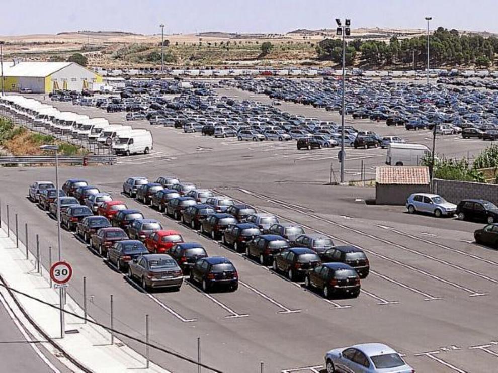 El centro logístico tiene capacidad para 12.000 vehículos, pero su ocupación actual apenas supera un 20%.
