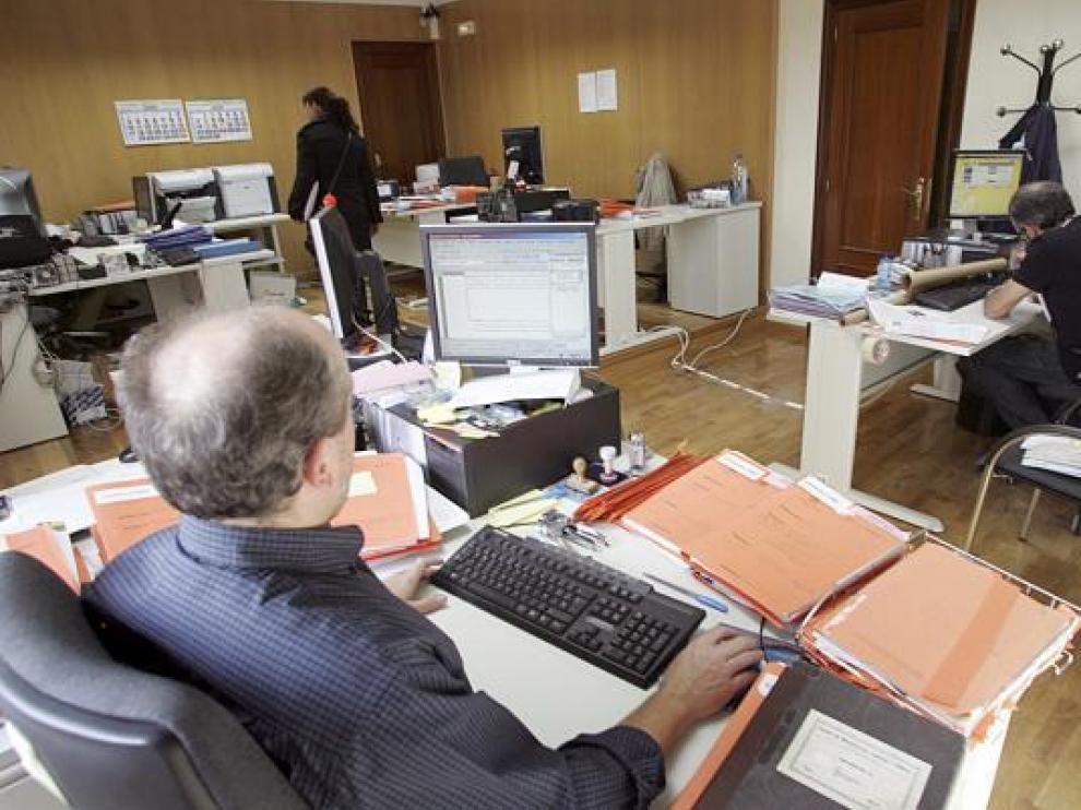 Las demandas por despido en Aragón bajaron un 11,5 % con un total de 524 demandas.