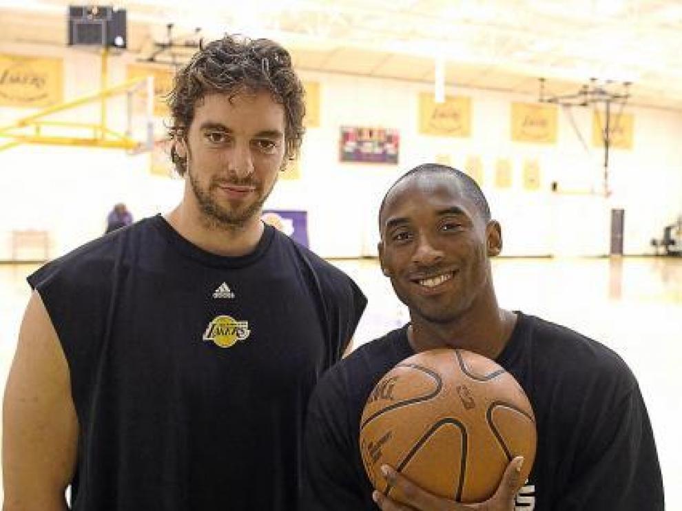 El dúo dinámico de los Lakers: Pau Gasol y Kobe Bryant