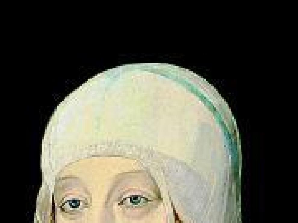 La reina por Juan de Flandes.