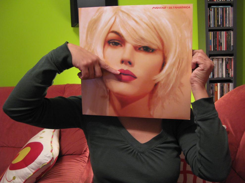 'Sleeveface', portadas por la cara