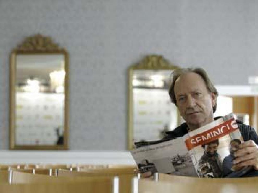 El cineasta serbio Goran Paskaljevic, ayer, en Valladolid.