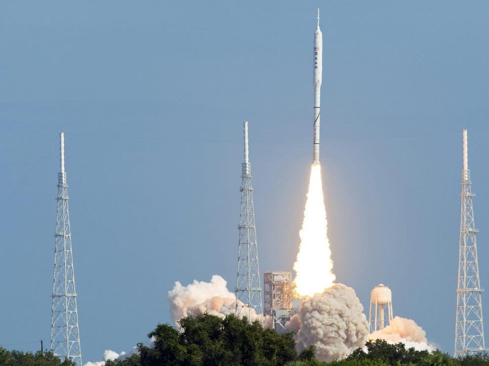 Lanzamiento del Ares I-X en el sur de Florida