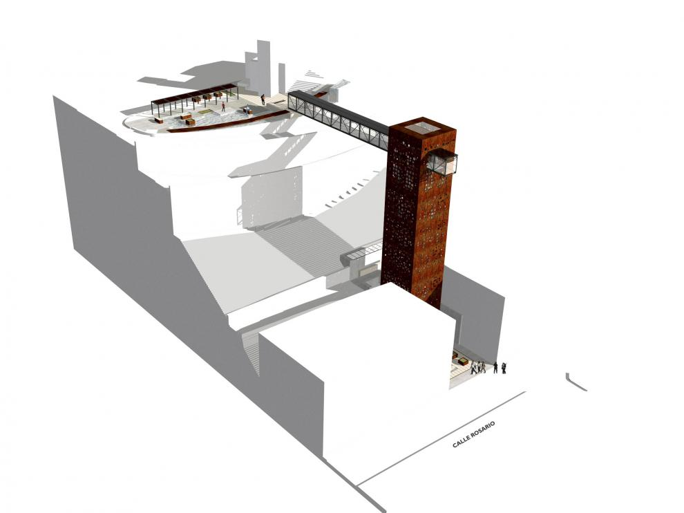 El ascensor de San Julián al Centro Histórico cuesta 1,5 millones y entrará en servicio en 2011
