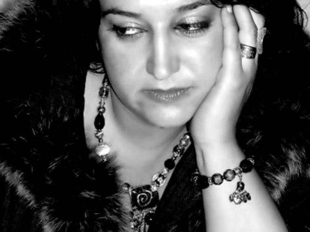 La escritora zaragozana Olga Bernard.