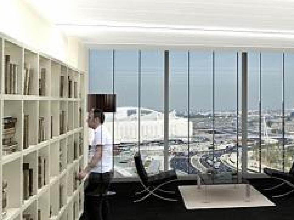 El primer edificio de oficinas del barrio del AVE se empezará a construir en 2010