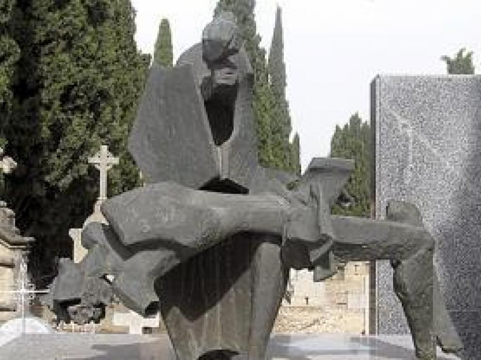La escultura original.