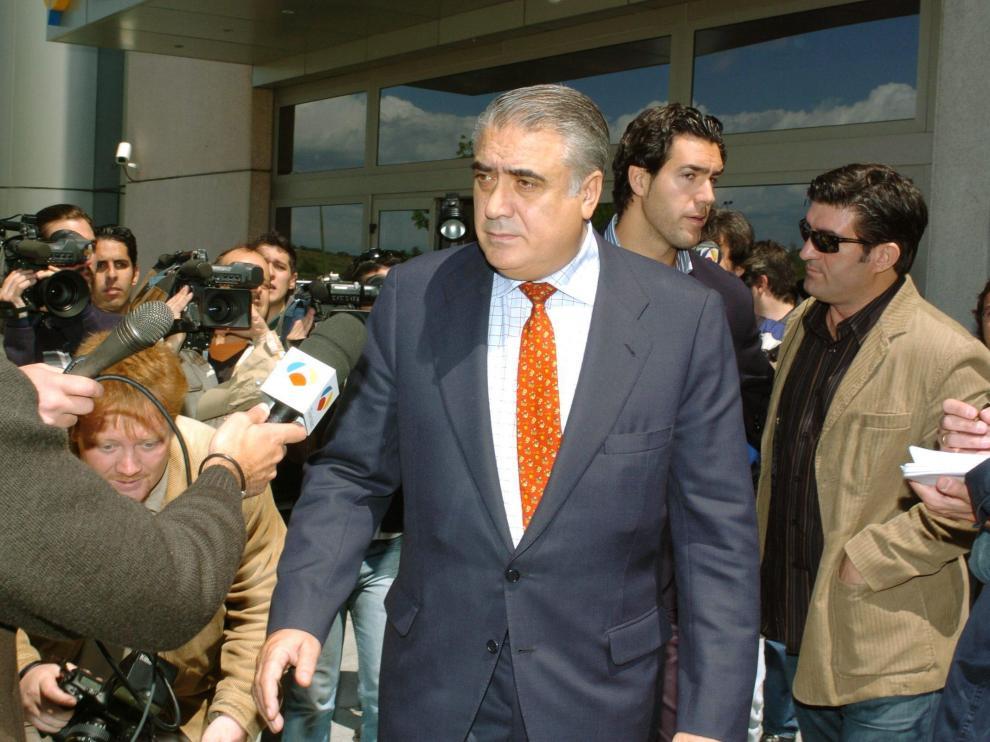El ex presidente del Real Madrid Lorenzo Sanz en una imagen de archivo.