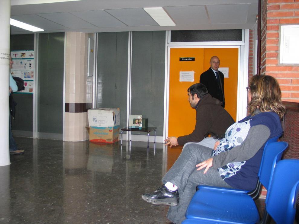 Imagen tomada en la sala de espera de Ginecología del Obispo Polanco.