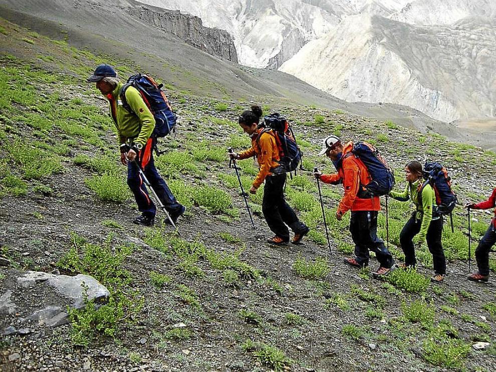 Los candidatos tienen por delante jornadas de duro 'trekking'