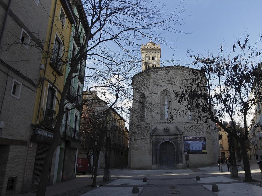 La plaza de la Magdalena es el corazón del barrio.