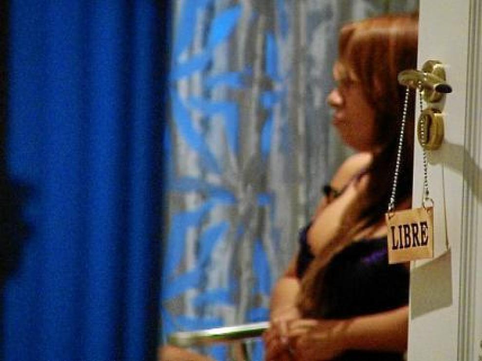 Un fotograma del reportaje de investigación 'Nadie va de putas' de Aragón TV.