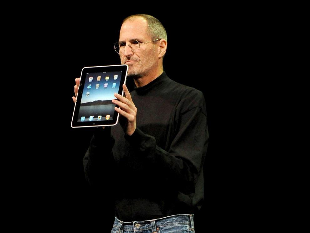 Jobs, en una imagen de archivo
