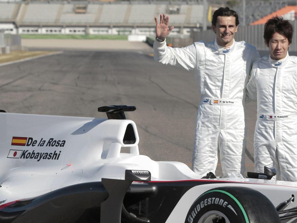 Sauber presenta a De la Rosa