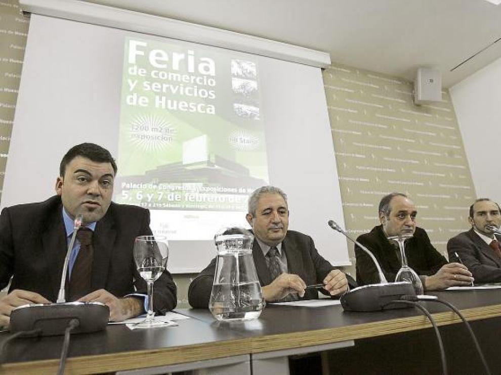 Acto de presentación de la feria el pasado lunes en el Palacio de Congresos de Huesca
