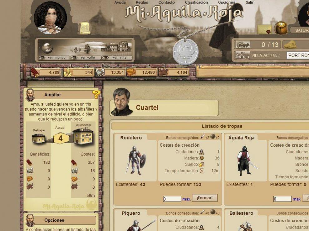 Juego de estrategia sobre la vida del espadachín