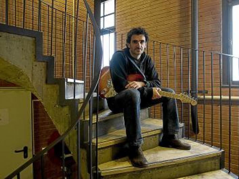José Luis, dentro del Teatro Principal, donde hoy actúa.