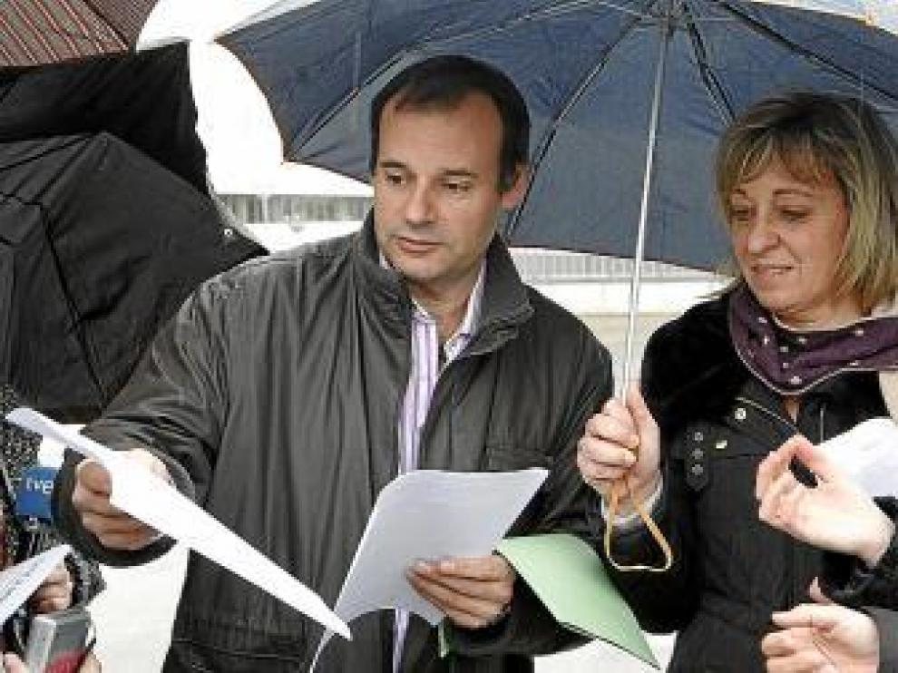 Juan Arcéiz y Ana Sánchez, presidente y secretaria del comité de GM