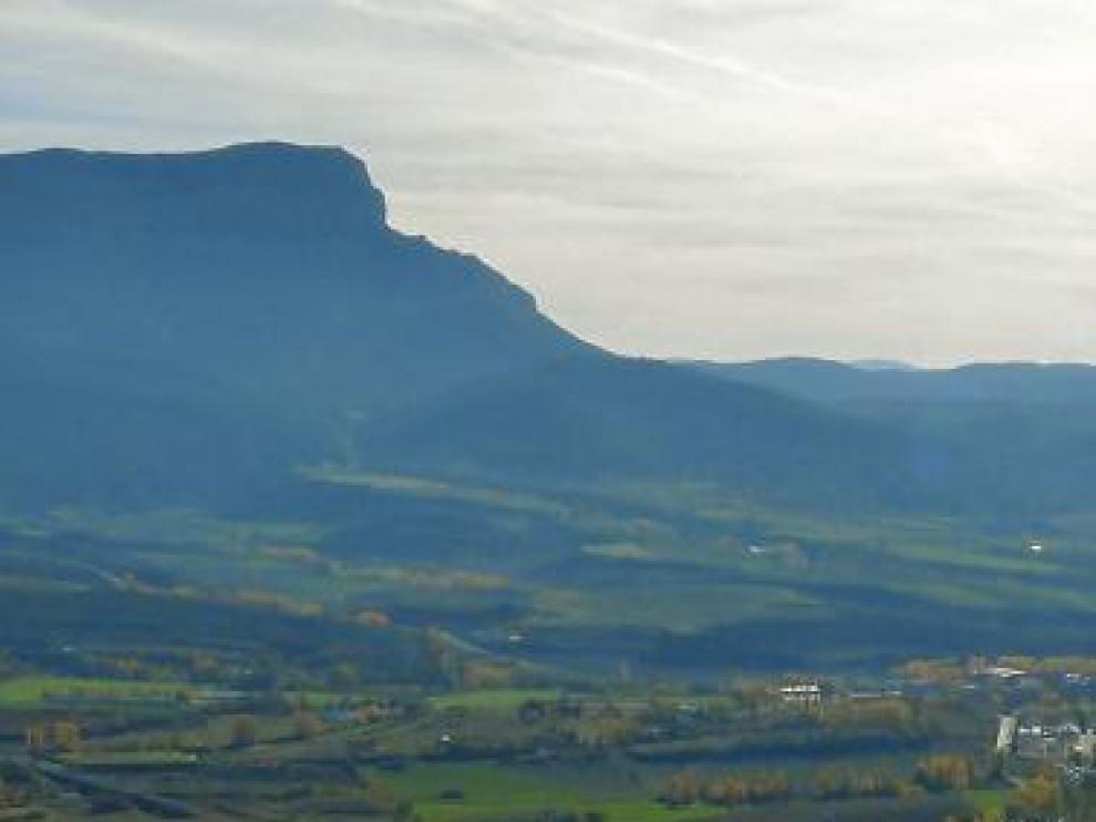 Vista de la zona del sector Levante que se quiere planificar.