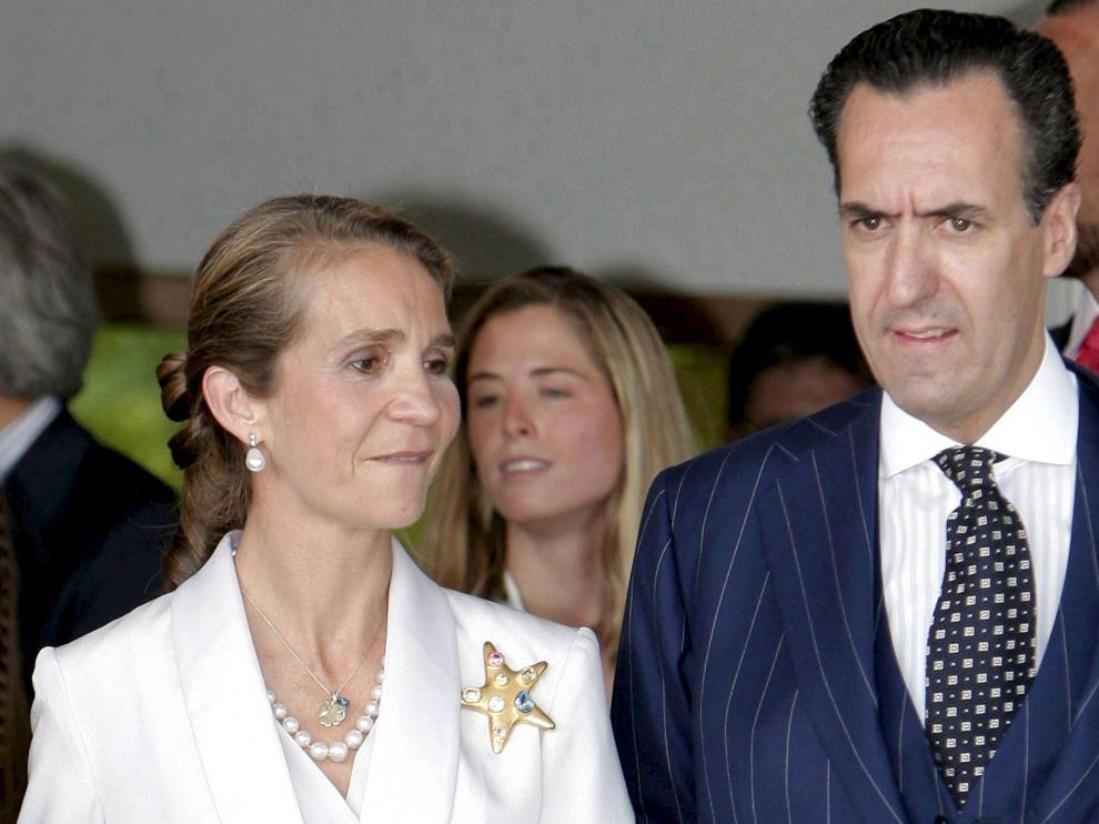 La Infanta Elena y Jaime de Marichalar