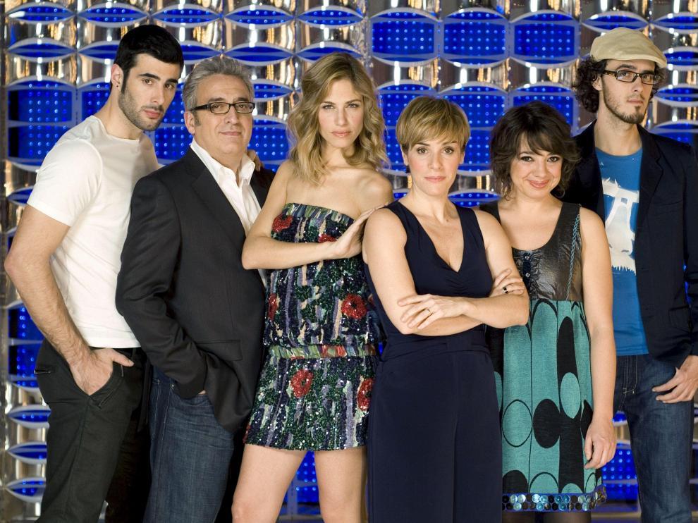 El equipo de 'El club del chiste' de Antena 3.