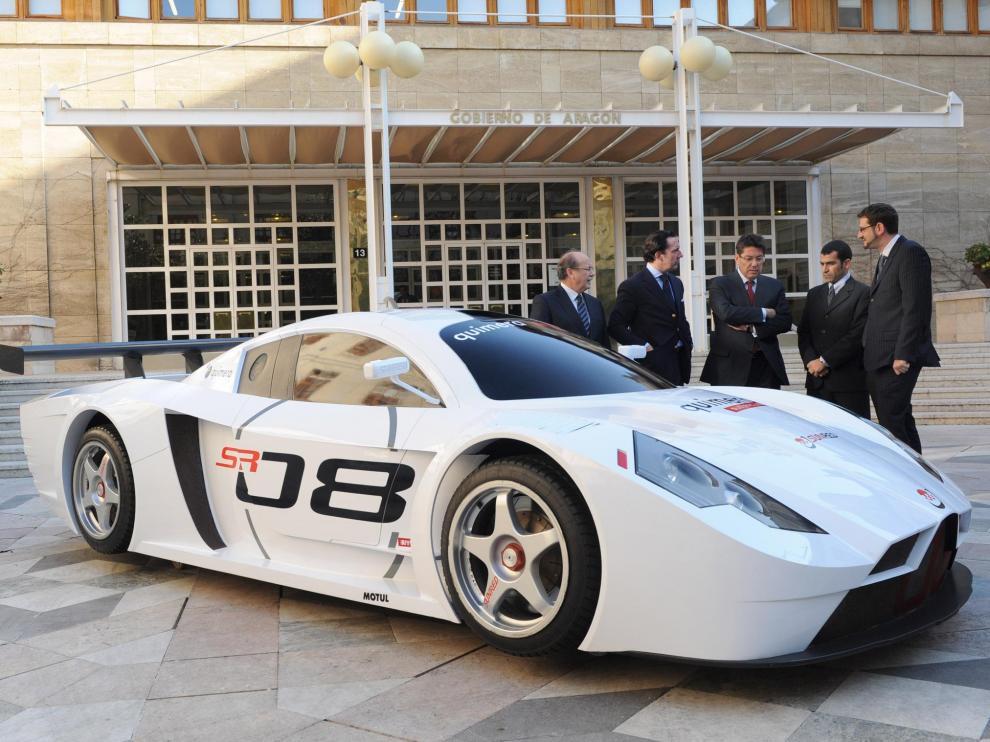 El primer coche eléctrico GT se creará en Motorland y competirá ya en 2011