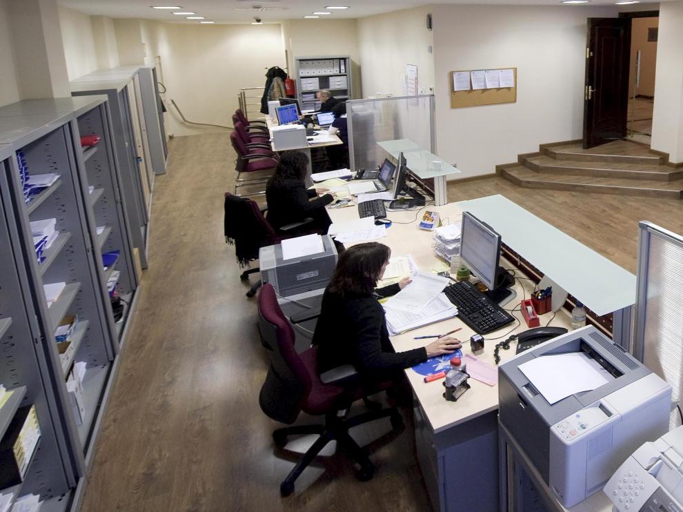Nueva oficina del turno de oficio en el Colegio de Abogados.