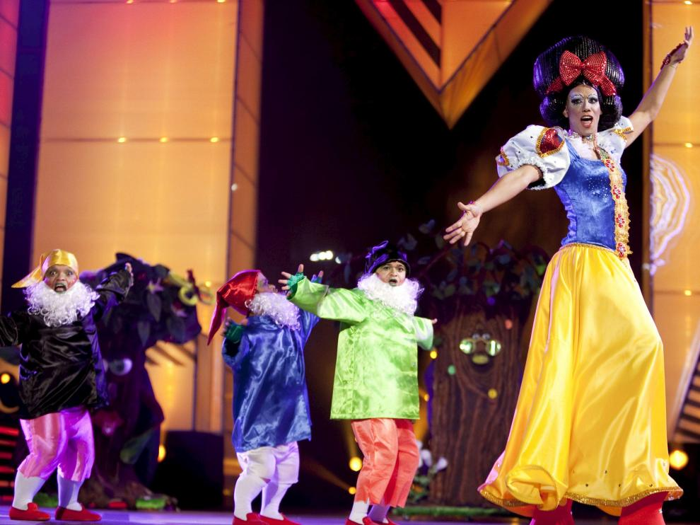 La concursante Drag Mandrágora se convirtio¿en el 'Drag Queen' del Carnaval de Las Palmas.
