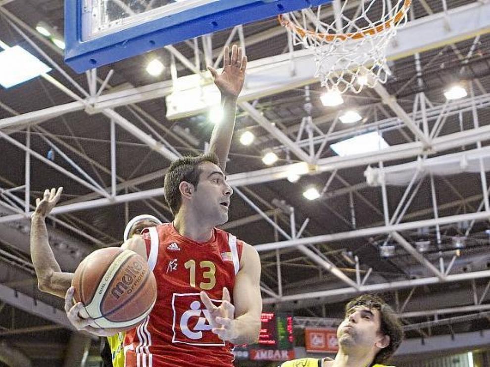 Paolo Quinteros, en el partido contra La Laguna.