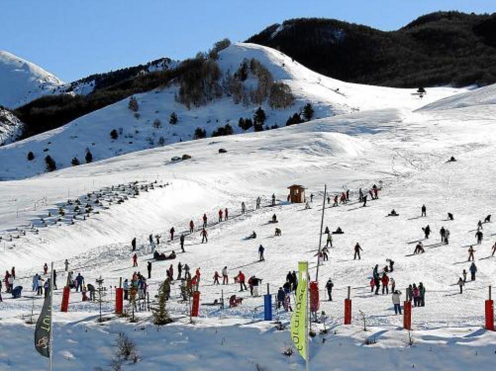 La estación de Formigal alberga su primer gran evento de este año.