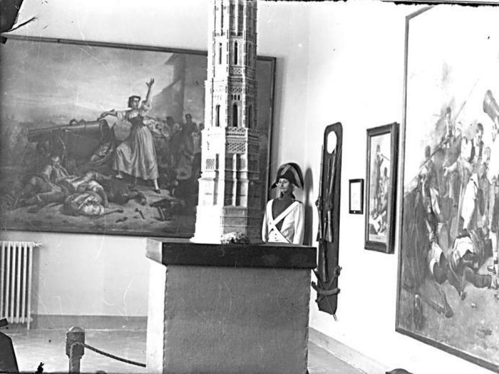 Museo de los Sitios que había en la Academia General Militar