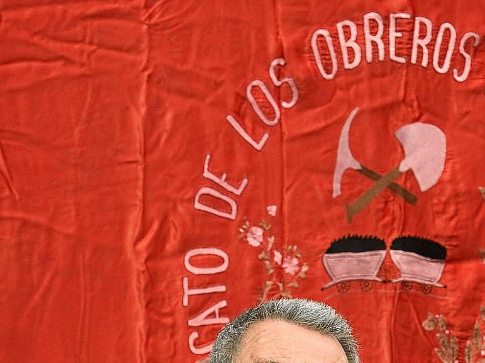 Cándido Méndez, en un acto ayer en Asturias. alberto morante