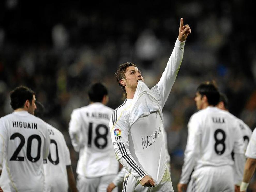 Cristiano Ronaldo dedicó a su isla de origen, devastada por las lluvias, el gol frente al Villarreal.