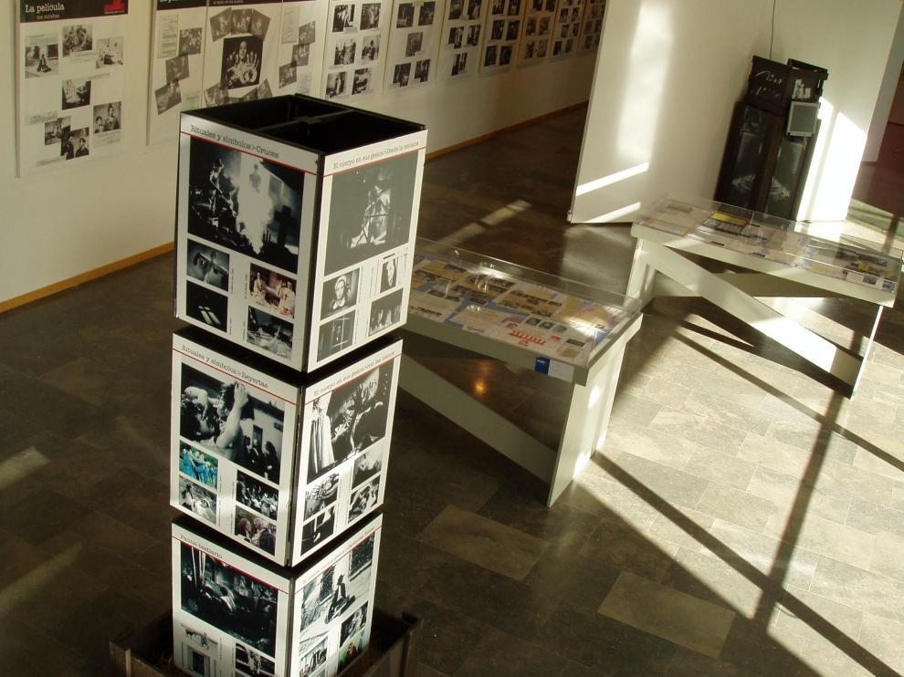 Rodaje de 'Cajas destempladas', de J. M. Iranzo, en Calanda.