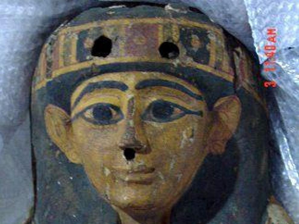 Sarcófago de un individuo llamado Imesy, perteneciente a la 21a dinastía, (1070-945 A.C.)