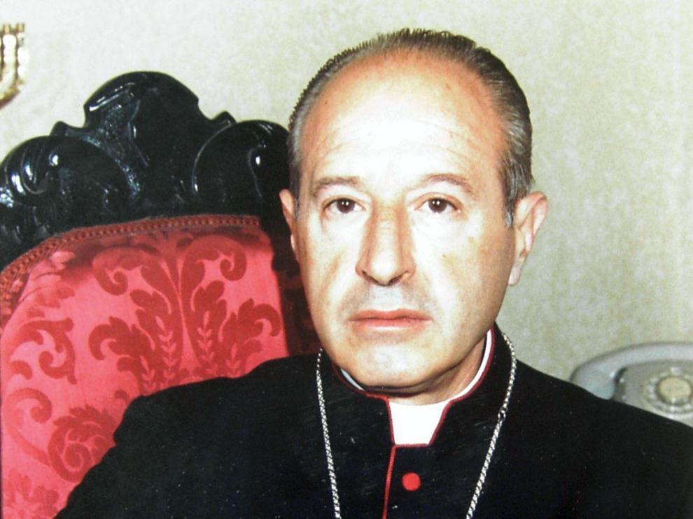 José Ángel Belda, obispo de Jaca entre 1978 y 1983