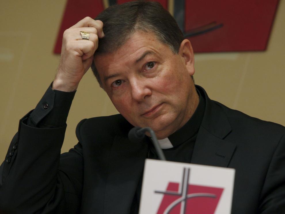 El portavoz de la Conferencia Episcopal Española, Juan Antonio Martínez Camino