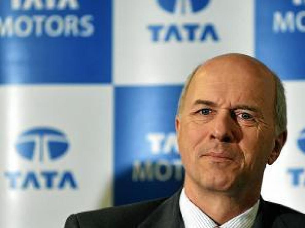 Carl-Peter Foster, consejero delegado de Tata Motors, ayer.